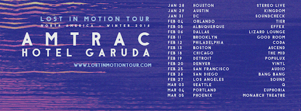 Amtrac - Lost In Motion Tour - acid stag