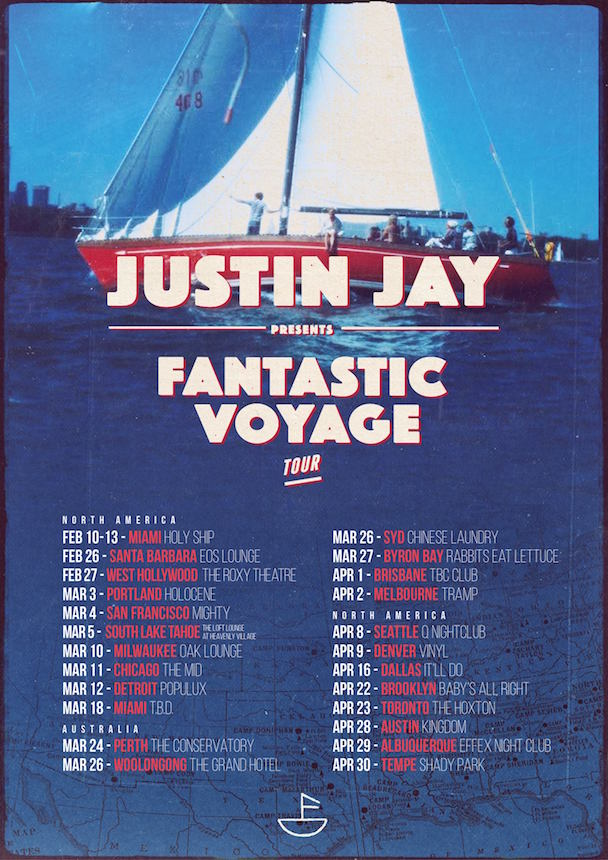 Justin Jay - USA Tour - acid stag