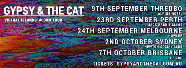 Gypsy & The Cat - Aus Tour - acid stag