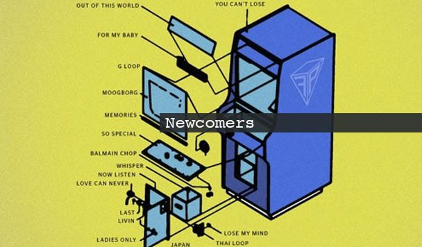 NEWCOMERS: Floating Pyramids, R-Fly, HOST, adhoc & Mona Vale