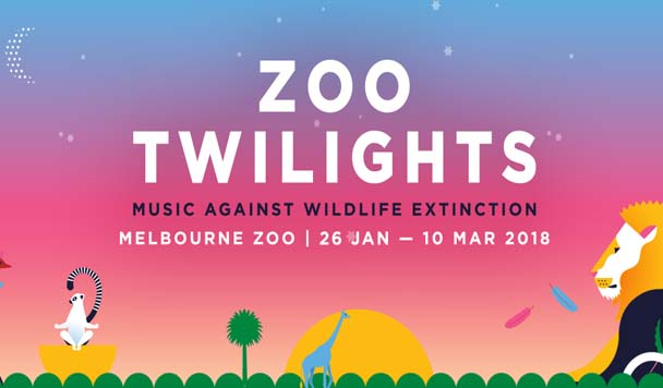 Zoo Twilights at Melbourne Zoo Announces Huge 2018 Line-Up