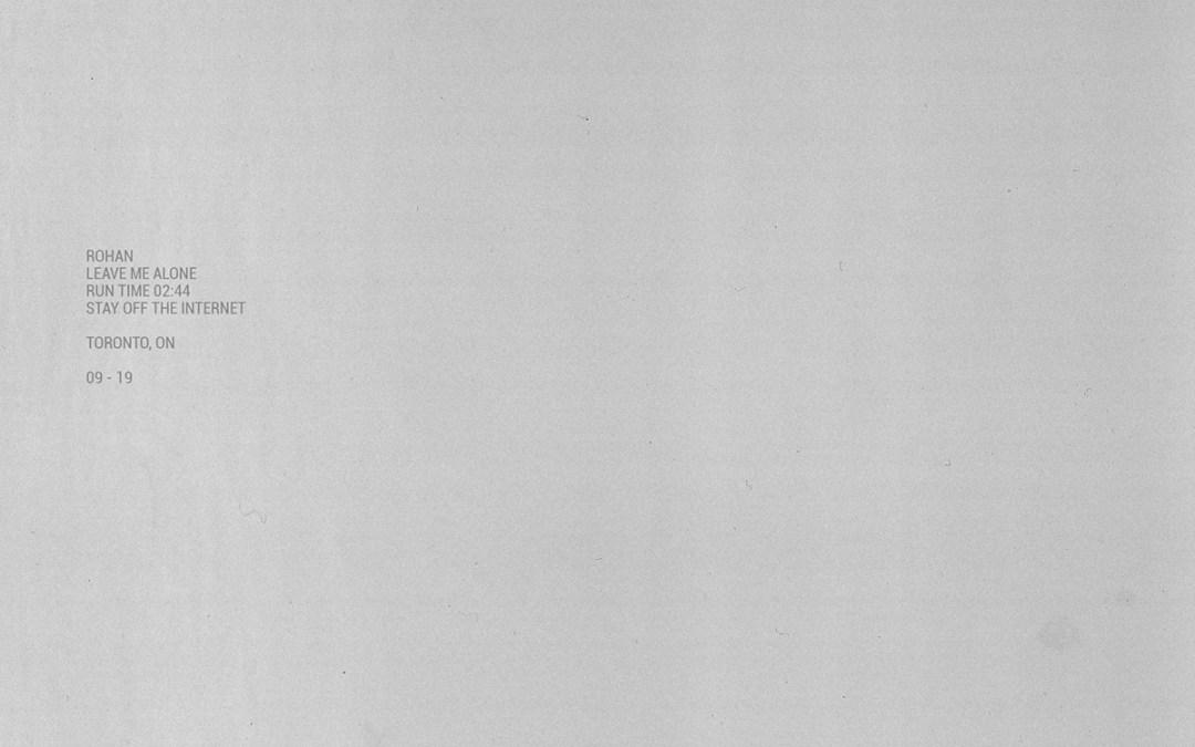 NEWCOMERS: Rohan / Dan Kanvis / Adam Kahati / 1000 Beasts