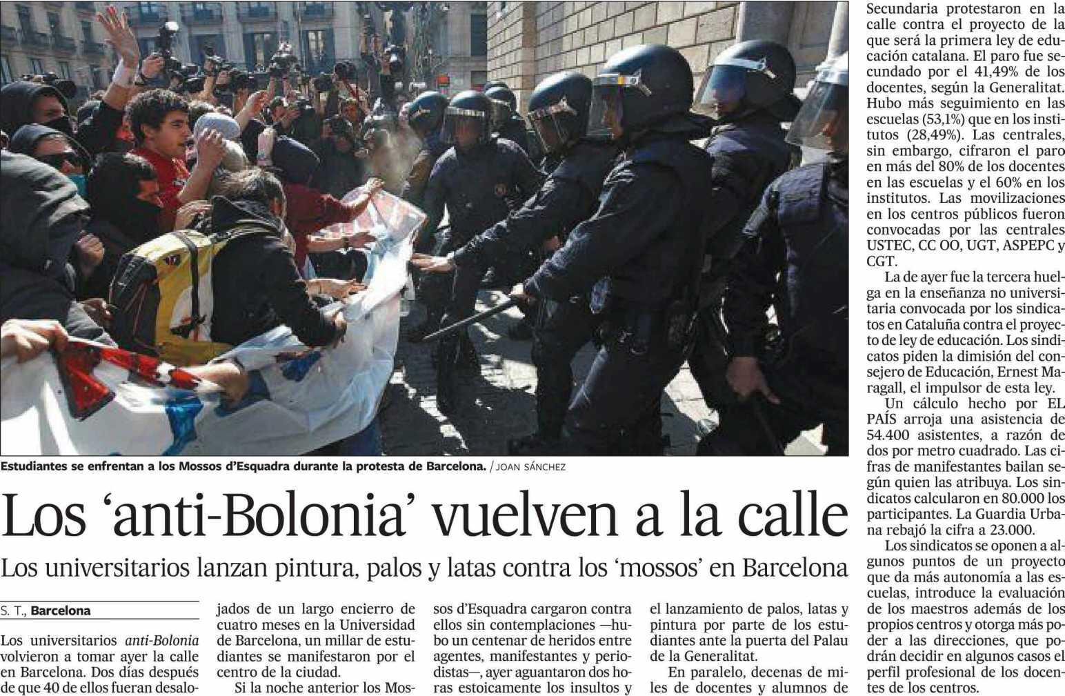 El País - 20 marzo 2009