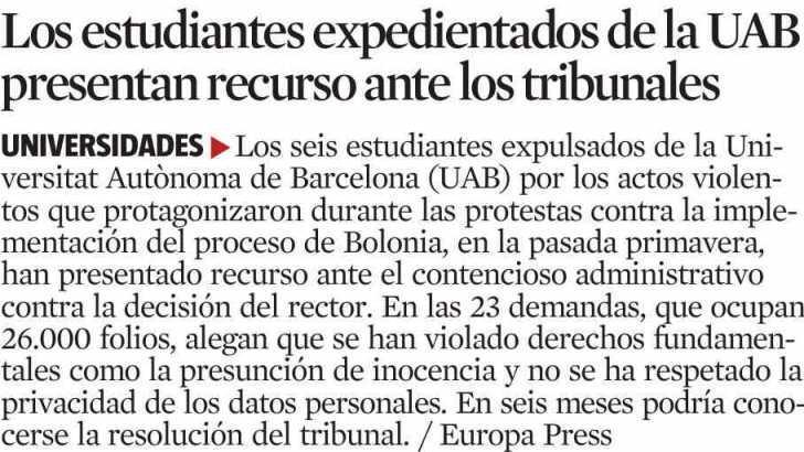La Vanguardia - 16 gener 2009
