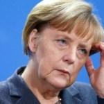 Merkel üzgün