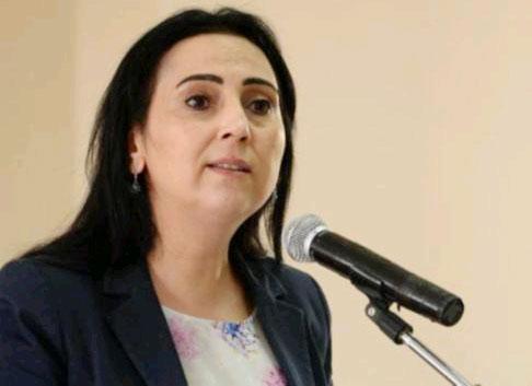 HDP Eşgenel Başkanı Figen Yüksekdağ