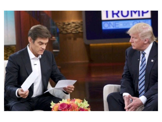 Mehmet Öz ve Trump