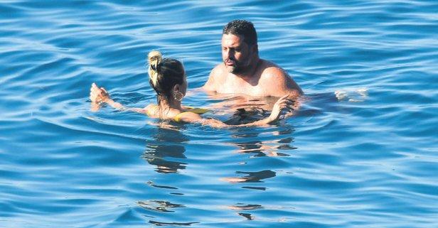 Ece Erken ile Şafak Mahmutyazıcıoğlu tatile çıktı