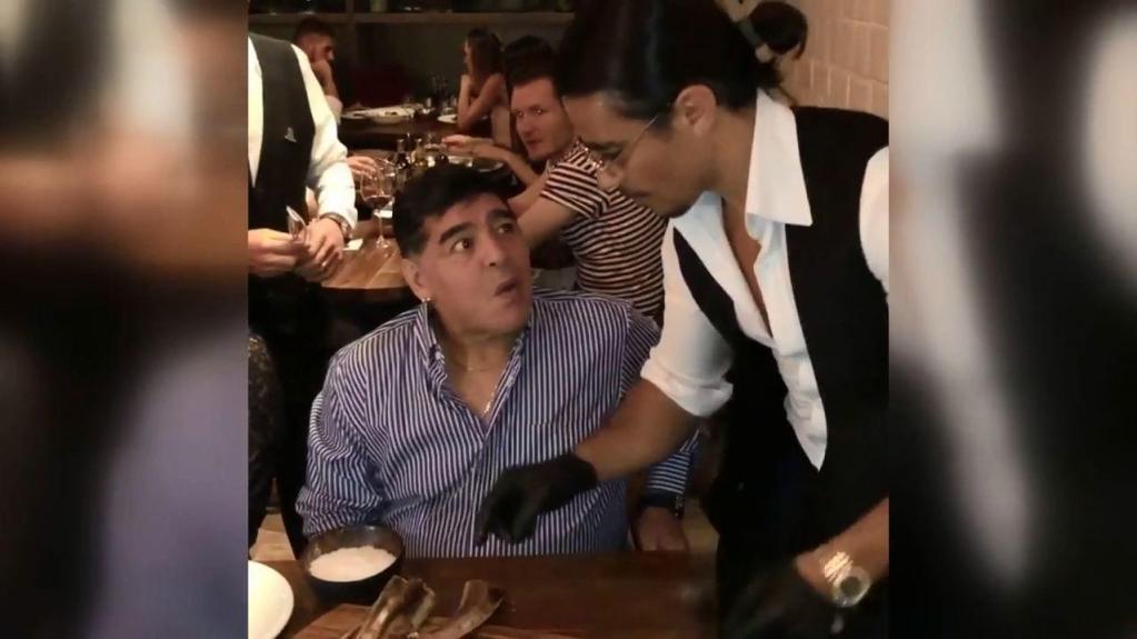 Maradona'nın hatırasına jest! Masası sürekli rezerve edildi!