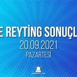 20 Eylül 2021 Pazartesi reyting sonuçları