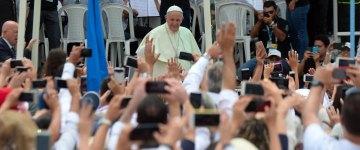 Histórica visita del Papa Francisco a Medellín