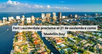 ft-lauderdale proclama el Día Medellín