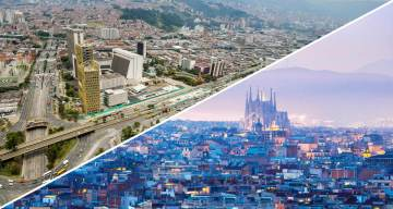 Barcelona y Medellín