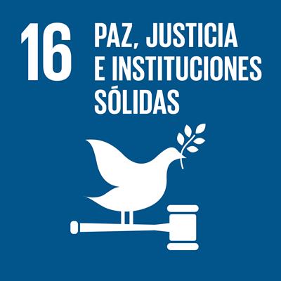 ODS 16 - Paz, justiciae instituciones sólidas