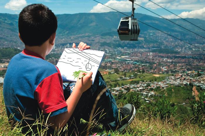 Cooperación Internacional en Medellín
