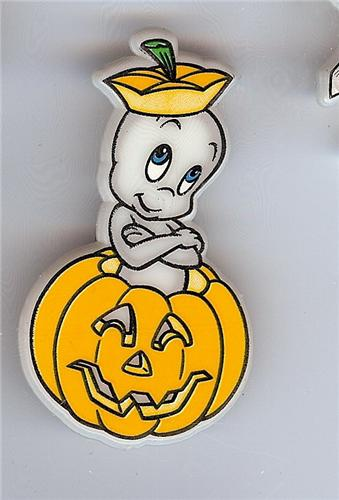 Casper Pumpkin The Friendly Ghost Glow In Dark Pinpins