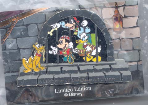 Disney Jail Scene Fab 5 WDCC PinPins Renas Collectibles