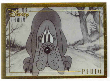 Disney Pluto Dog Chain Gang Gold Premium 1930 Renas