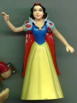 Disney Snow White With Red Cape Rare Figurine Renas