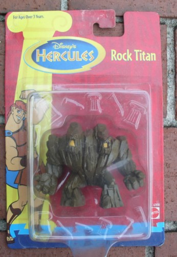 Disney Hercules The Two Headed Rock Titan Mint On Original