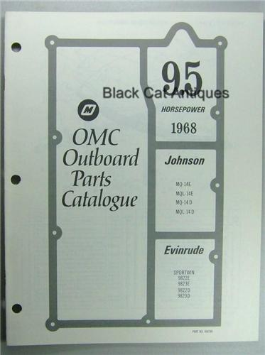 Diagram Of 1968 Mq 14d Evinrude Johnson Outboard Lower Unit Pictures