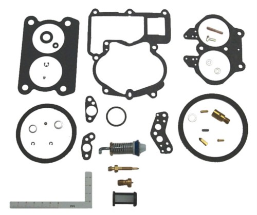 Mercruiser 3.0 Mercarb Carburetor Rebuild Kit 18-7098-1