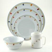 Galleyware Flags Design Dinnerware Set - Sandie's Galley ...
