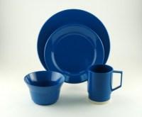 Galleyware Royal Blue Melamine Dinnerware Set - Sandie's ...