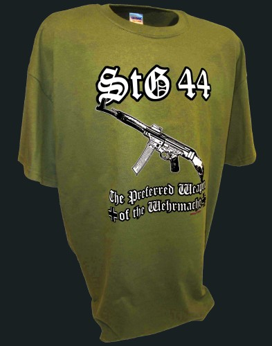 Stg44 Wehrmacht Assault Rifle Firearms Pro Gun tee gn.jpeg