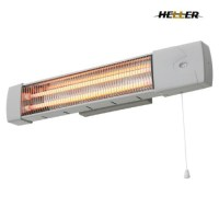 Heller 1200W Wall Mounted Bathroom Strip Heater With Pull ...