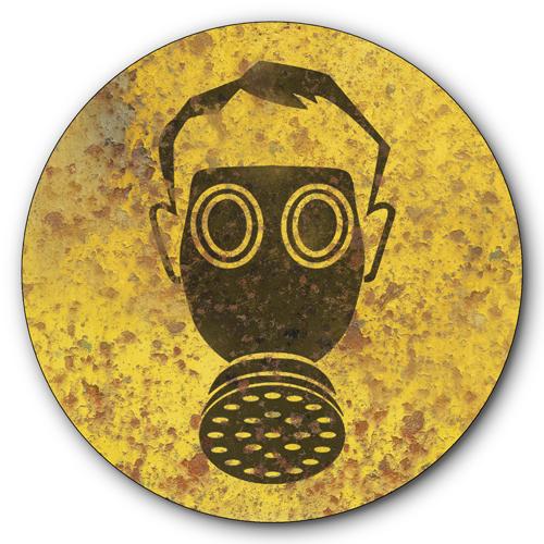 toxic fumes warning gas