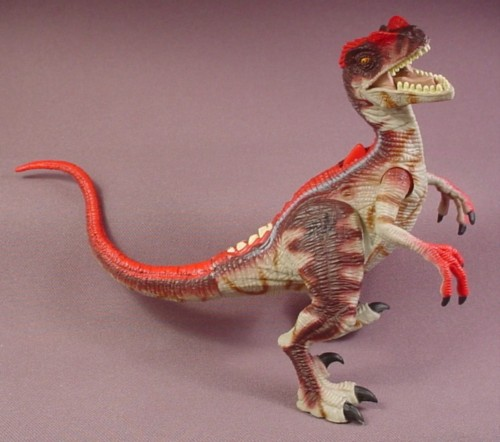 Jurassic Park 3 Velociraptor Toy When Dinosaurs ...