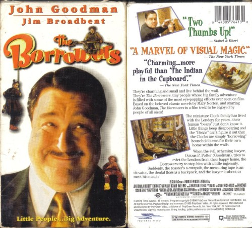 The Borrowers Featuring John Goodman