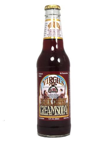 FRESH 12oz Virgil39s Black Cherry Cream soda Soda