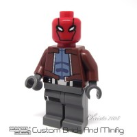 Custom Lego Red Hood - Custom Brick And Minifig