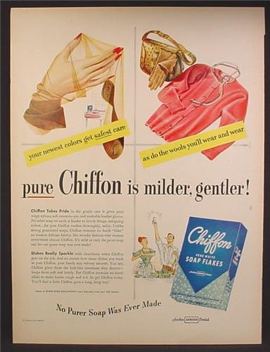 magazine ad for chiffon