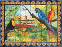 hand painted tiles: mexican mural - Mexican Tiles ...