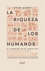 """Portada del libro """"La riqueza de los humanos"""""""