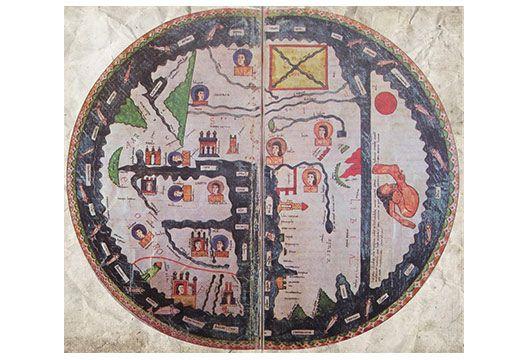 Mapamundi del Beato de Burgo de Osma