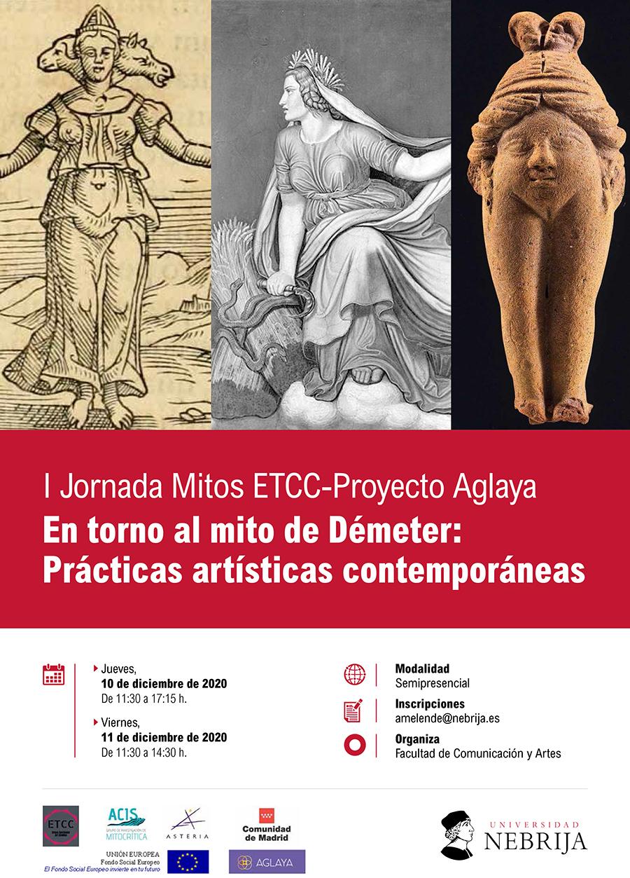 """Cartel VI Congreso Internacional de Mitocrítica """"Mito y Ciencia Ficción"""""""