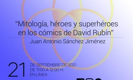 Mitología, héroes y superhéroes en los cómics de David Rubín