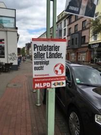 """Proletariat of all lands, unite!"""