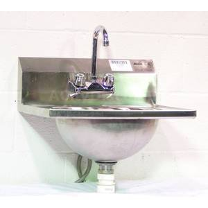 Used Eagle Hsa 10f Drop In Stainless Steel Hand Wash Sink