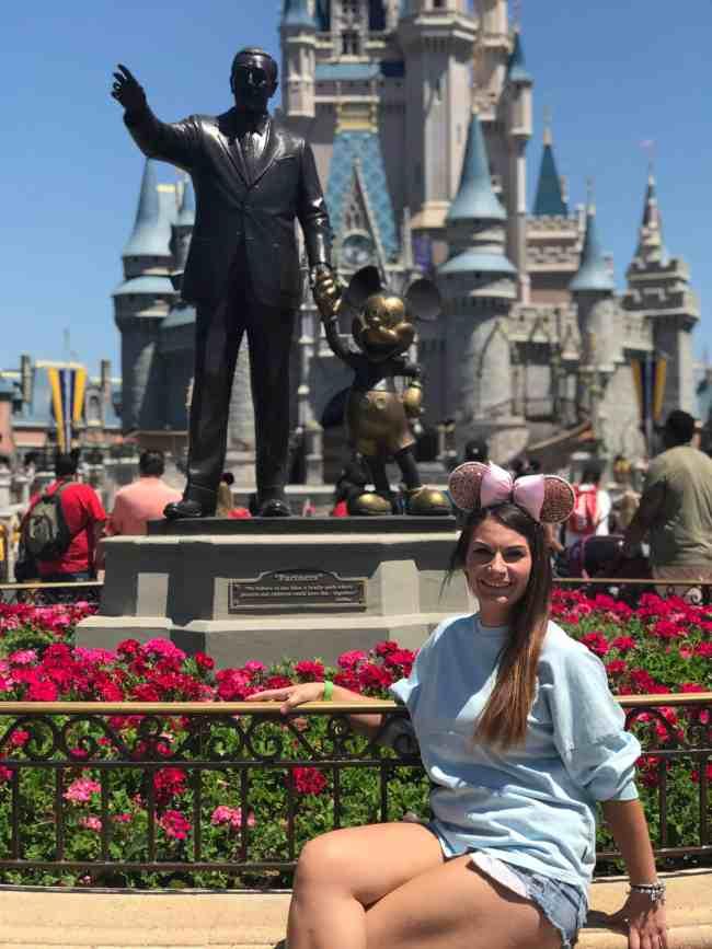 Magic Kingdom Partners Statue - Disney Cultural Representative Program
