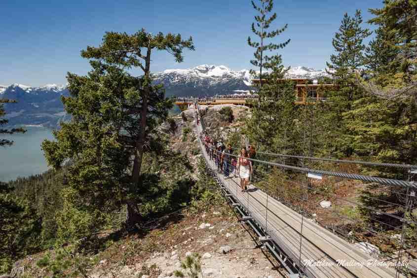 Sea to Sky Gondola suspension bridge, Squamish, British Columbia