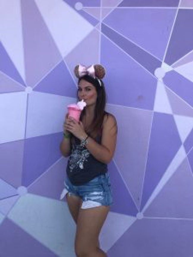 Disney's Purple Wall at Tomorrowland Terrace