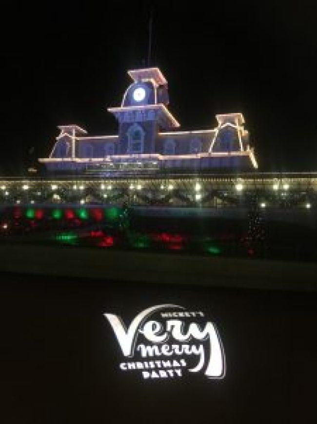 Mickey's Very Merry Christmas Party at Disney's Magic Kingdom