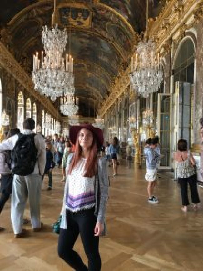 Hall of Mirrors - Palace Of Versailles - Paris