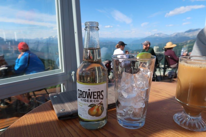 Umbrella Bar - Whistler Mountain