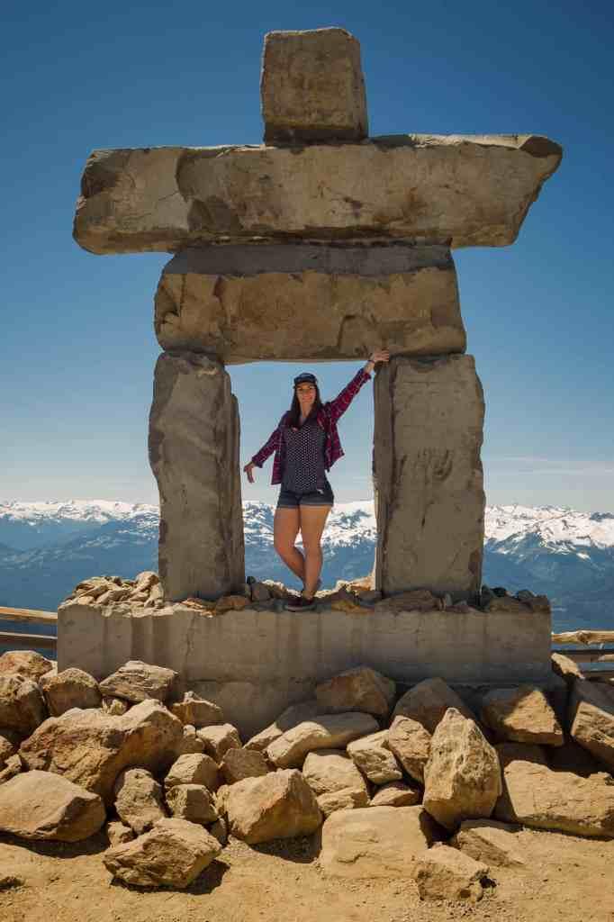 Inukshuk peak of Whistler Mountain